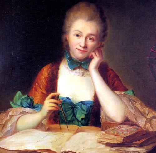 Inconnu,_portrait_de_madame_Du_Châtelet_à_sa_table_de_travail,_détail_(château_de_Breteuil)_-002